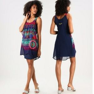 Desigual Vest Magic Tank Dress XS Sz. 36